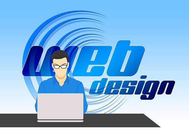 muž, notebook, webdesign