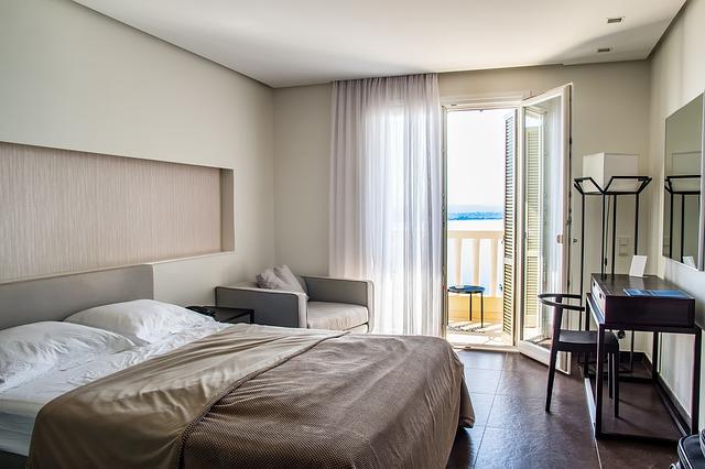 ložnice s terasou