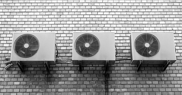 klimatizace na zdi