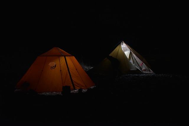 camping noční