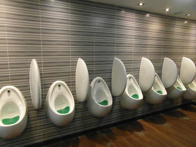 pánské toalety