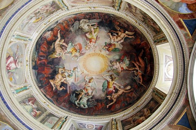 malba na stropě
