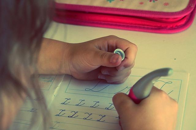 procvičování psaní