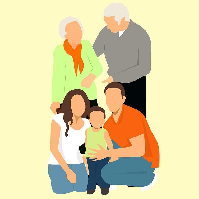Skupina-velká rodina