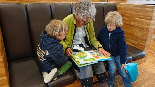 čtení s vnoučaty