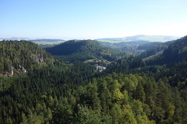 Adršpašské lesy