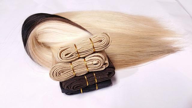 vlasový příčesek