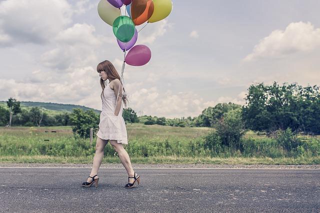 balonky na nebi