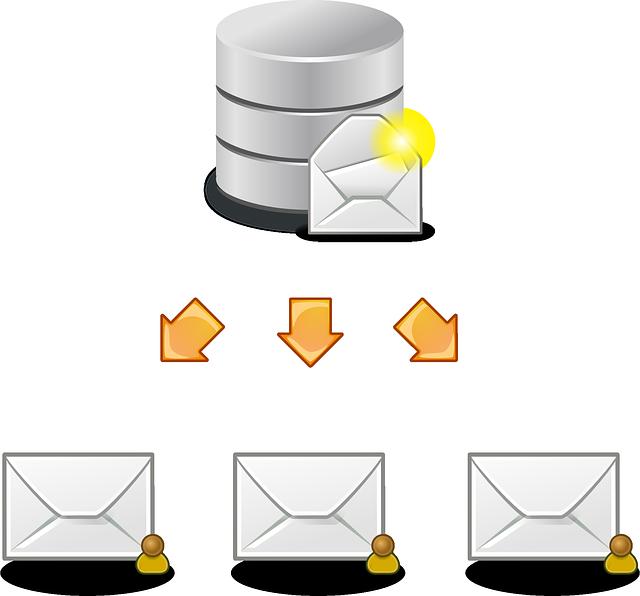 rozesílka obálek adresátům