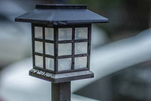 venkovní svítidlo