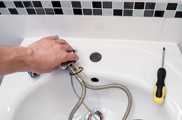 Instalace nových vodovodních baterií