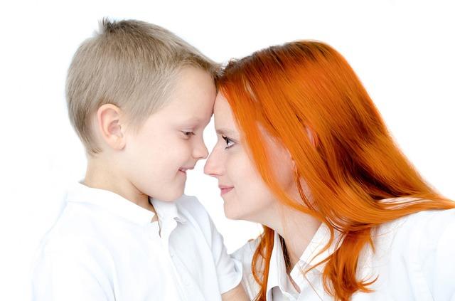 matka se synem