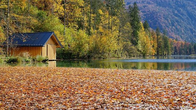 chata v přírodě