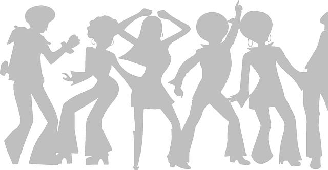 tanec na oslavě